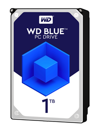 "Western Digital Blue 1TB SATA III 3.5"" Hard Drive - 7200RPM, 64MB"
