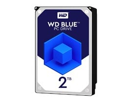 "Western Digital Blue 2TB SATA III 3.5"" HDD"
