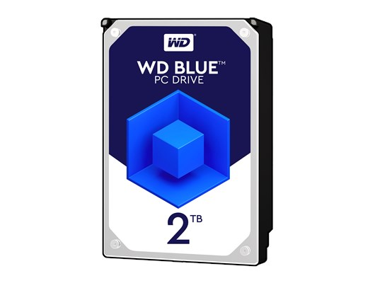 "Western Digital Blue 2TB SATA III 3.5"" Hard Drive"