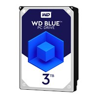 Western Digital Blue 3TB SATA III 3.5 Hard Drive - 5400RPM, 64MB