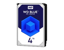 "Western Digital Blue 4TB SATA III 3.5"" Hard Drive"
