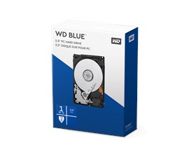 Western Digital Blue Mobile Retail 1TB SATA II