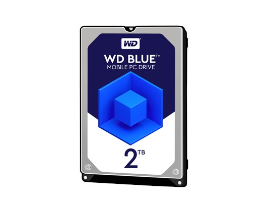 "Western Digital Blue 2TB SATA III 2.5"" Hard Drive"