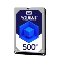 Western Digital Blue Mobile 500GB SATA III 2.5 Hard Drive - 16MB