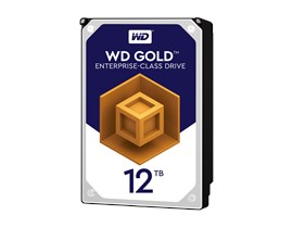 "Western Digital Gold 12TB SATA III 3.5"" Hard Drive"