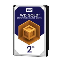 Western Digital Gold 2TB SATA III 3.5 Hard Drive - 7200RPM, 128MB
