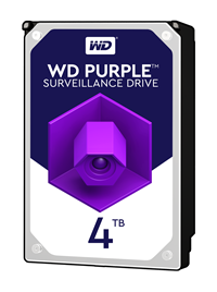Western Digital Purple Surveillance 4TB SATA III 3.5 Hard Drive