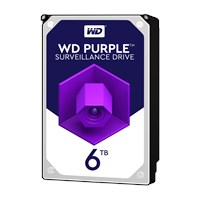 Western Digital Purple Surveillance 6TB SATA III 3.5 Hard Drive