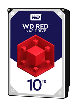 "Western Digital Red 10TB SATA III 3.5"" Hard Drive"