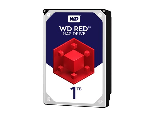 "Western Digital Red 1TB SATA III 3.5"" Hard Drive"
