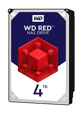 "Western Digital Red 4TB SATA III 3.5"" Hard Drive"