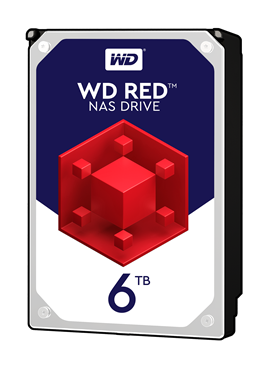 "Western Digital Red 6TB SATA III 3.5"" Hard Drive"