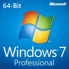 Microsoft Windows 7 Professional w/ Service Pack 1 - 64-bit DVD (OEM)