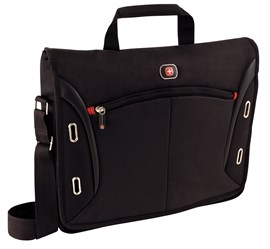 "Wenger Developer 15"" Messenger Bag with Ipad/Tablet Pocket"