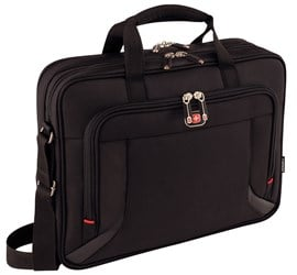 "Wenger Prospectus 16"" Laptop Case- iPad/Tablet/eReader Pocket"