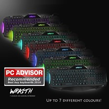 Sumvision Nemesis Wraith 7 colour gaming keyboard