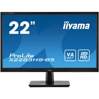 iiyama ProLite X2283HS 21.5 inch LED Monitor - Full HD, 4ms, HDMI