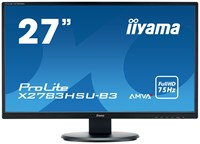 iiyama ProlLite X2783HSU-B3 27 inch LED Monitor - Full HD, 4ms