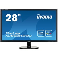 iiyama ProLite X2888HD-B2 28 inch LED Monitor - Full HD, 5ms, HDMI