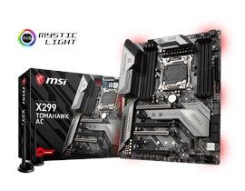 MSI X299 TOMAHAWK AC Intel Socket 2066 Motherboard