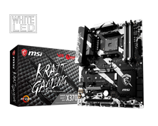 MSI X370 KRAIT GAMING AMD Socket AM4 Motherboard