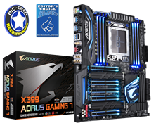 Gigabyte X399 AORUS Gaming 7 AMD Socket TR4 ATX Motherboard *Open Box*