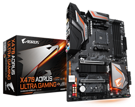 Gigabyte X470 AORUS Ultra Gaming AMD Motherboard