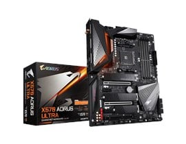 Gigabyte X570 AORUS ULTRA AMD Socket AM4 X570 Chipset ATX Motherboard *Open Box*