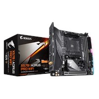 Gigabyte X570 I AORUS PRO WIFI ITX Motherboard for AMD AM4 CPUs