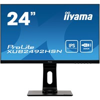 iiyama ProLite XUB2492HSN 23.8 inch LED IPS Monitor - Full HD, 4ms