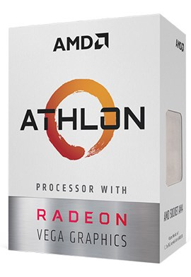 AMD Athlon 200GE 3.2GHz Dual Core (Socket AM4) CPU
