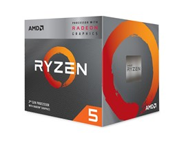 AMD Ryzen 5 3400G 3.7GHz Quad Core CPU
