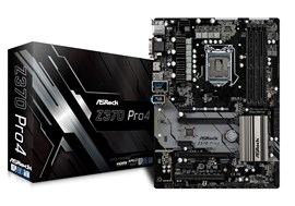 ASRock Z370 Pro4 Intel Socket 1151 Motherboard