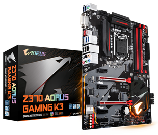 Gigabyte Z370 AORUS Gaming K3 Intel Socket 1151