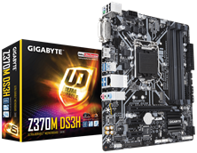 Gigabyte Z370M DS3H Intel Socket 1151 Motherboard