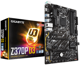 Gigabyte Z370P D3 Intel Socket 1151 ATX Motherboard *Open Box*
