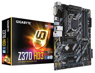 Gigabyte Z370-HD3 Intel Socket 1151 Motherboard
