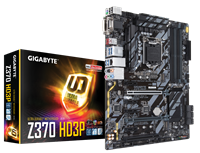Gigabyte Z370-HD3P Intel Socket 1151 ATX Motherboard