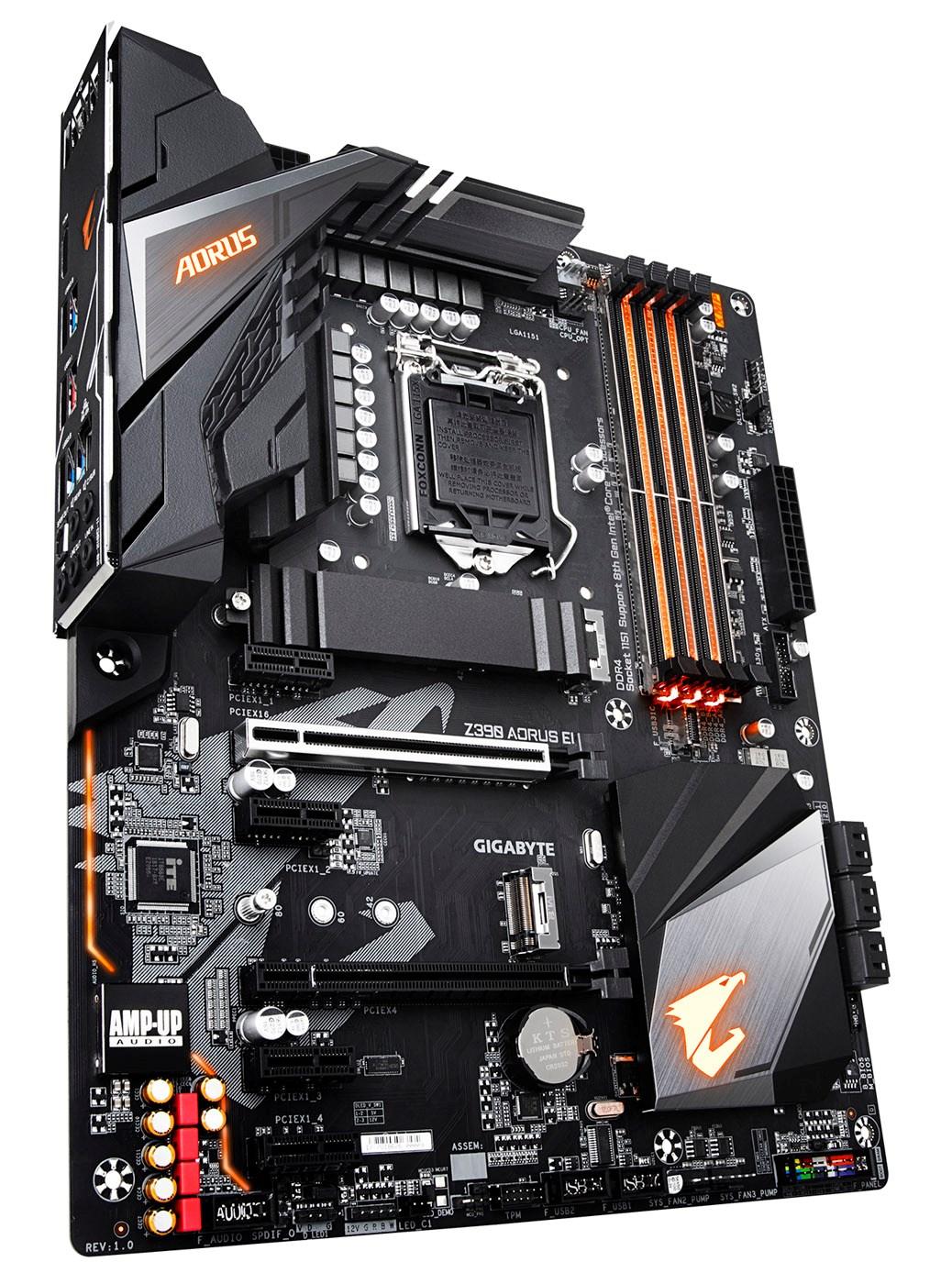 Gigabyte Z390 AORUS Elite Intel 1151 Z390 Motherboard (ATX) RAID Gigabit  LAN (Intel HD Graphics) *Open Box*
