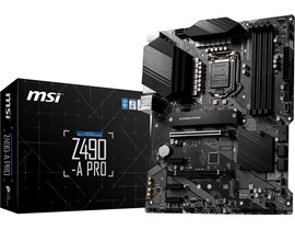 MSI Z490-A PRO Intel Socket 1200 Motherboard