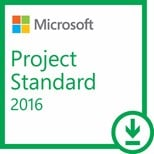 Microsoft Project Standard 2016 for Windows OPK License (ESD)