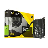 Zotac GeForce GTX 1050 Ti 4GB Mini Boost Graphics Card