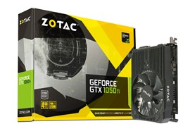 Zotac GeForce GTX 1050 Ti Mini 4GB Graphics Card