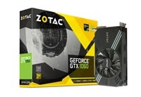 Zotac GeForce GTX 1060 3GB Mini Boost Graphics Card
