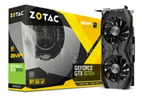 Zotac GeForce GTX 1070 Ti 8GB AMP! Edition Boost Graphics Card