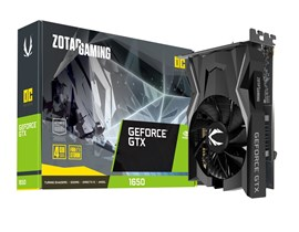 Zotac GeForce GTX 1650 4GB Graphics Card