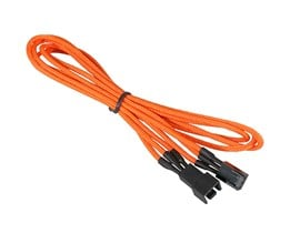 BitFenix Alchemy 3pin Fan extension 90cm - Orange