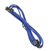 BitFenix Alchemy 4-Pin ATX12V Extension 45cm - sleeved blue/black