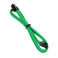 BitFenix Alchemy 4-Pin ATX12V Extension 45cm - sleeved green/black