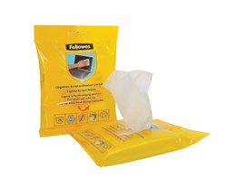 Fellowes Laptop Screen Cleaning Wipes (25 Pack)